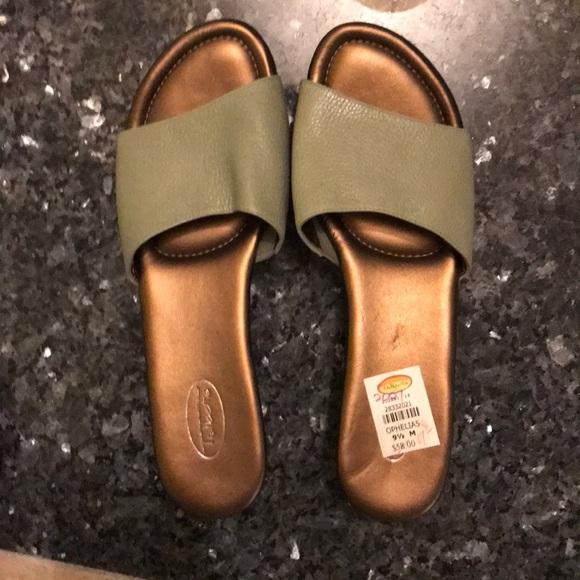f4e9c4064 Talbots Slide Sandals NEW
